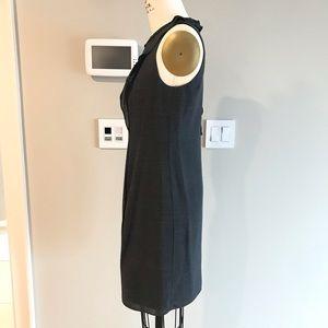 Elie Tahari Dresses - Elie Tahari Grey Dress with ruffle detail